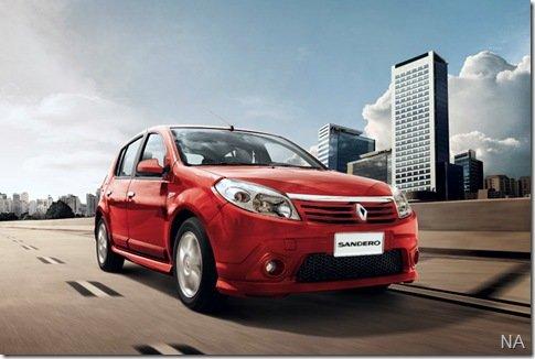 Renault Sandero é lançado no Chile
