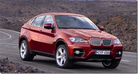 BMW X5M e X6M terão motor de 550 cv