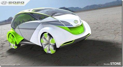 """Hyundai City Family Car 2020, o """"carro autótrofo"""""""