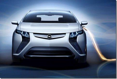 Opel revela todos os dados do Ampera