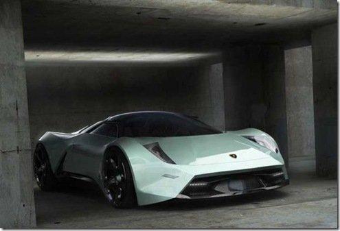Insetos inspiram novo modelo da Lamborghini, o Insecta
