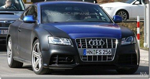 Novo Audi RS5 é flagrado em Nurburgring, na Alemanha