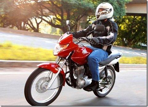 Honda lança primeira moto flex do mundo