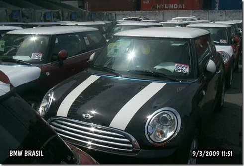 Mini Cooper começando a chegar ao Brasil