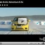Vídeo-Saab Performance Team testando os mais recentes lançamentos da marca