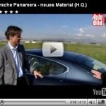 Vídeo-Porsche Panamera no Auto Bild TV