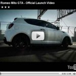 Primeiro video do Alfa Romeo MiTo GTA