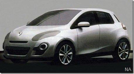 Seria esse o novo Renault Clio?
