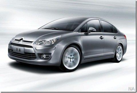 Dongfeng-Citroën apresenta oficialmente o C-Quatre Sedã em Xangai