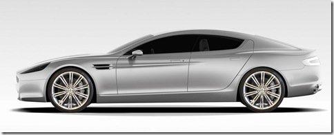 Aston Martin Rapide terá motor V12 com 470 cv