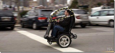 GM e Segway desenvolvem carro elétrico de duas rodas