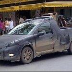 Picape derivada do Peugeot 207 é flagrada em Resende, RJ