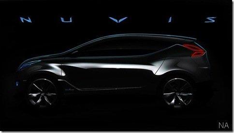 Primeira imagem oficial do Hyundai Nuvis