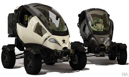Peugeot Capsule, o utilitário do futuro (?)