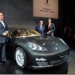 Porsche Panamera apresentado oficialmente em Xangai