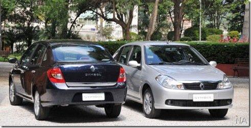 Renault Symbol passa a ter nova versão de entrada, com motor 1.6 8V