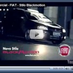 Comercial FIAT Stilo Blackmotion