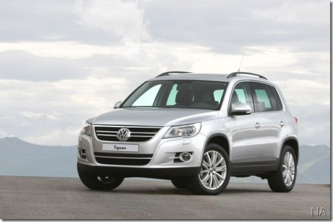 Mais detalhes sobre o Volkswagen Tiguan