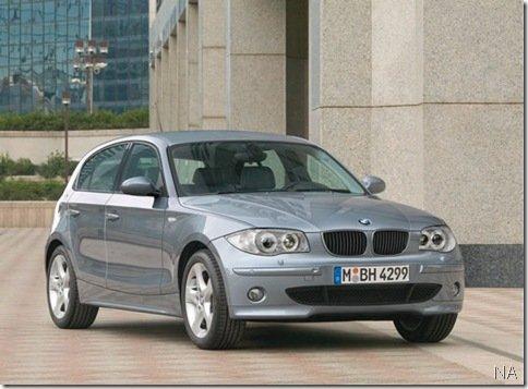 BMW Série 1 ganhará versão mais acessível