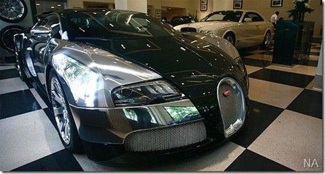 Bugatti entrega primeiro Veyron Centennaire