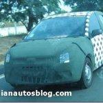 Novo compacto da Ford para o Brasil é flagrado em testes na Índia