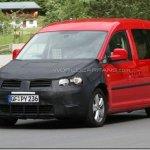 Caddy reestilizado é flagrado na Alemanha