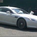 Aston Martin Rapide é flagrado novamente sem disfarces
