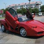 Chines faz réplica da Ferrari Enzo