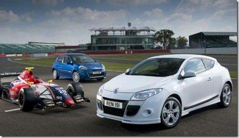 Clio e Mégane com edição especial no Reino Unido