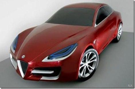 Alfa Romeo 169 pode ter plataforma Chrysler
