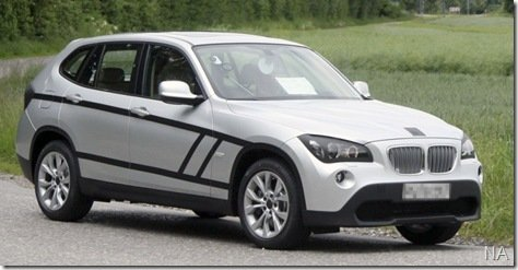 BMW X1 é flagrado quase sem camuflagem