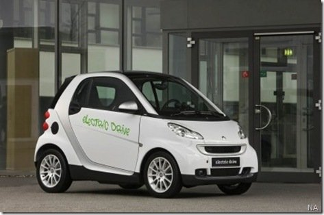 Smart confirma o lançamento do fortwo elétrico para 2010