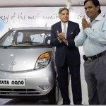 Tata entrega a primeira unidade do Nano