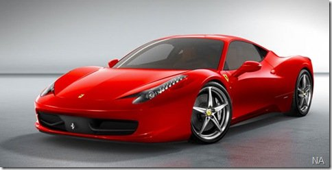 Ferrari revela seu novo esportivo, a F458 Italia