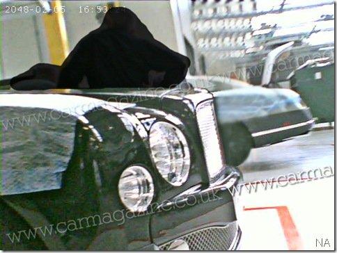 """Novas imagens do """"new grand Bentley"""""""