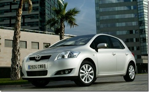 Toyota fabricará Auris híbrido no Reino Unido