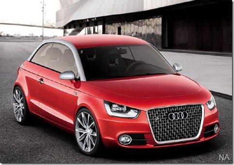 Compacto da Audi será apresentado  em Frankfurt