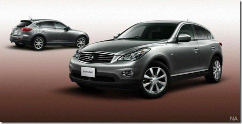 Nissan Skyline Crossover será lançado esse mês no Japão