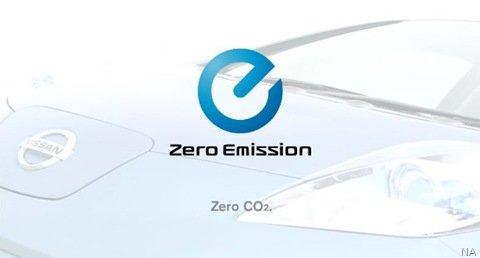 Nissan revela parte de seu carro elétrico