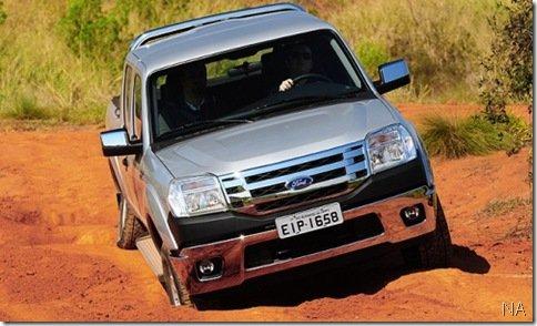 Ford Ranger 2010 parte de R$ 45.900