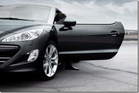 Peugeot divulga as primeiras imagens do do RCZ