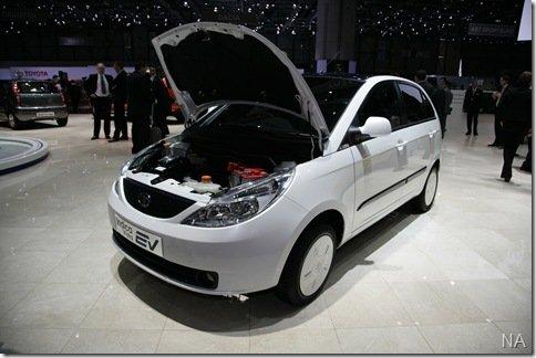 Carro elétrico da Tata chega em 2010 à Europa