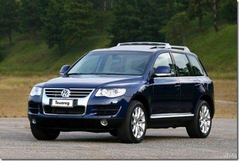 VW Touareg passa por recall no Brasil por defeito no Spoiler