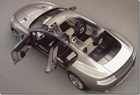 Interior do Aston Martin Rapide vaza na web