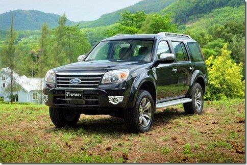Nova Ford Everest  recebe o visual da nova Ranger tailandesa
