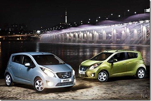 Daewoo lança novo Matiz na Coreia do Sul