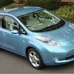 Nissan apresenta seu seu carro elétrico, o Leaf
