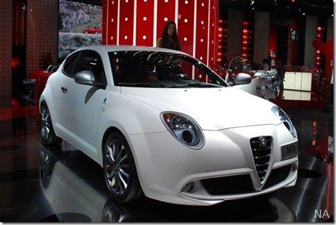 Salão de Frankfurt 2009 – Alfa Romeo MiTo Quadrifoglio Verde