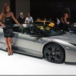 Salão de Frankfurt 2009 – Lamborghini Reventón Roadster