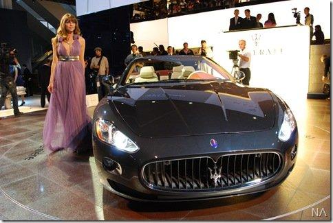 Salão de Frankfurt 2009 – Maserati GranCabrio